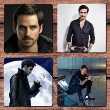 Colin O'Donoghue Coaster Set NEW Once Upon a Time Captain Hook