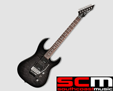 BC RICH ASSASSIN BLACK BURST ELECTRIC GUITAR DUNCAN'S FLOYD ROSE FREE P+H!