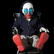 GIGGLES THE CLOWN  Life-Size Animated Haunted House Halloween Prop Decoration