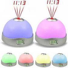 Luce di 7 colori LED Star Night Magic proiettore retroilluminazione orologio