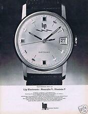 """Publicité Advertising 026 1967 Lip montre """"Sarah=Bernhardt"""""""