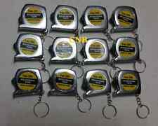 12 x Mini MEASURING MeasureTAPE keyring key chain keychain carnival party favor