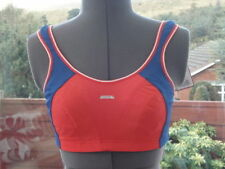 Shock Absorber Sports Bra B4490 (Support Level 4) Red Blue Size 30D BNWT RRP £30