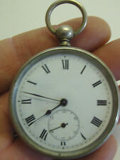 Vintage Beaucourt enamel dial pocket watch