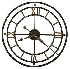 Howard Miller York Station 625-299 wrought iron skeleton clock 625299