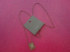 J.Crew Gold Tone Turtle Necklace 26 Inch Chain
