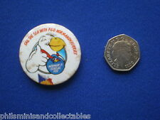 P & O Ferries ' Norma D Seagull '  Pin Badge   1980s
