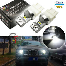White LED For 2011 & up Jeep Grand Cherokee Daytime Running Light Philips Luxeon