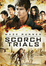 Maze Runner: The Scorch Trials (DVD) & ULTRAVIOLET DIGITAL HD COPY IN A BR CASE