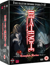 Death Note - Complete Series (DVD 2009)( 9 DISC, EPISODES 1-37) - New & Sealed**