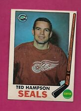 1969-70 TOPPS  # 86 SEALS TED HAMPSON EX  CARD (INV#3636)