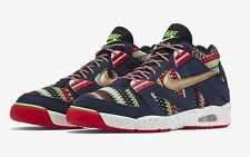 NIKE MEN'S AIR TECH CHALLENGE III QS SHOES SIZE 14 obsidian gold red 827822 400