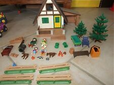 MAISON GARDE FORESTIER PLAYMOBIL Personage & accessoire