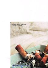 PUBLICITE advertising 2000    CFES   Assurance maladie  arreter de fumer