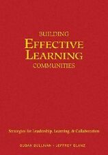 Building Effective Learning Communities: Strategies for Leadership, Le-ExLibrary