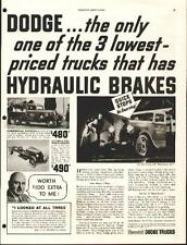1935 Dodge Trucks ad (Stake Truck & Commercial Express)