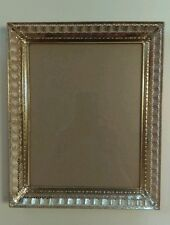 Vintage Gold Toned Ribbon 8 by 10 Wall or Table Picture Frame