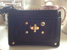 ⭐ Juicy Couture Borsa ⭐ NERO LADY LOCK Lolita scarti liquidi Leather Wallet ⭐