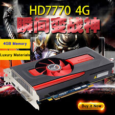 Computer Game Graphics/Video Card For AMD HD7770 4GB GDDR5 640sp 128Bit PCI-E 3
