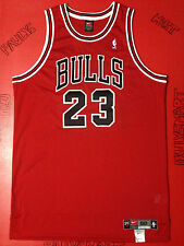 AUTHENTIC NEW MICHAEL JORDAN CHICAGO BULLS 23 RED PRO-CUT NIKE GAME JERSEY 50 XI