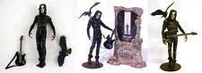 "McFarlane The Crow 6"" Inch LOOSE Figure Eric Draven Movie Maniacs 2 Brandon Lee"