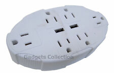 USB Outlet Multiplier Universal Electrical Power Plug Travel Adapter US SHIPPING