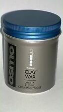 OSMO Clay Wax Matte Finish Texturised Hair Shaping Style 3.3 oz FIRM HOLD