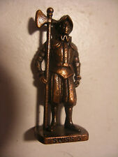 Surprise KINDER Ancien Metal Guarde Suisse WASHSOLDAT SWISS 5 Mettalfiguren
