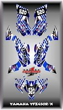 Yamaha YFZ450R YFZ450X 450X  SEMI CUSTOM GRAPHICS KIT 09-13 MAYHEM TRANCE2