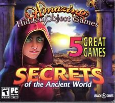 SACRED ALMANAC: TRACES OF GREED + RIDDLES OF EGYPT Hidden Object 5 PACK PC NEW