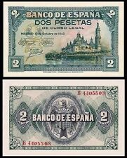 Facsimil Billete 2 Pesetas de 1940 NE - Reproduction