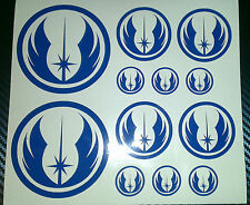 Star Wars Rebel Logo, Jedi Order, Sticker, Vinyl, Car, Tablet, Phone, Laptop,