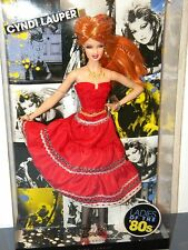 Cyndi Lauper Barbie Collector 2010 #R4460 NRFB Ladies of the '80s Rock Pop Star