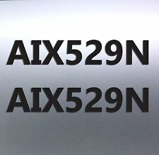 2 x Quality Boat Rego Vinyl Cut Sticker 150 mm high, 7 digits upto 1000mm long