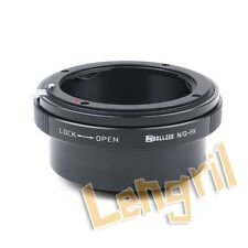 Dollice Lens Adapter for  Nikon G Lens to Fujifilm Fuji X X-A2 X-T1 X-A1 X-E2