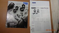 1992 Warne Scope MOUNTS Rings/MOUNTS FOR ALL FIREARMS MAKERS