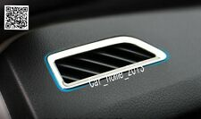 Car steel interior air conditioning vent cover  For Skoda Octavia MK3 A7 2015