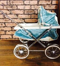 VINTAGE Welsh 1950s Mid Century BABY DOLL STROLLER CARRIAGE PRAM