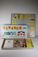 VINTAGE 1958 PARKER FINANCE BUSINESS TRADING BOARD GAME Pre-Monopoly