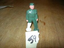 ca 1960'S BARCLAY DIMESTORE LEAD TOY WOUNDED SOLDIER ON CRUTCHES #59