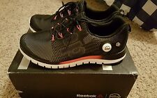 Reebok the pump fusion women's running shoes size 12  white/black/cherry color