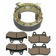 Front Brake Pads & Rear Brake Shoes Fits HONDA CB650SC Nighthawk 650 1983-1985