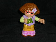 Fisher Price Little People Maggie Camping Girl HTF