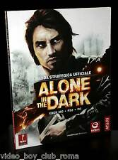 ALONE IN THE DARK GUIDA STRATEGICA UFF USATA ED ITALIANA PC PS3 XBOX 360 WII FR1