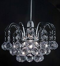 Chandelier Style Ceiling Pendant Lightshade Ball Droplet Acrylic Crystal Beads