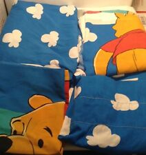 Disney Winnie The Pooh Twin Comforter Sheet Set Fitted Flat Pillowcase & Valance