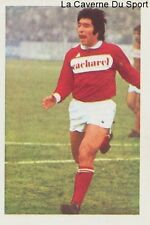 N°155 JACQUES VERGNES # NIMES OLYMPIQUE STICKER AGEDUCATIF FOOTBALL MATCH 1973