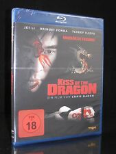 BLU-RAY KISS OF THE DRAGON - UNCUT - FSK 18 JET LI + BRIDGET FONDA - LUC BESSON