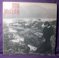 Don McLean's RARE Self Titled Folk Story Teller 33 RPM LP Album Plays Great!