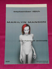 vintage 1998 MARILYN MANSON MECHANICAL ANIMALS store counter display
